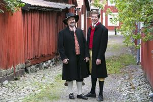 Jens Runnberg och Gabriel Ehrling, politisk redaktör respektive ledarskribent på AT/DT.