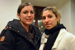 Johanna Nordin och Monica Stangaciu har blivit goda vänner de senaste veckorna.