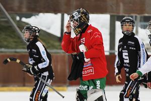 Linda Odén i Hammarby, i en match på just Jernvallen mot SAIK förra säsongen.
