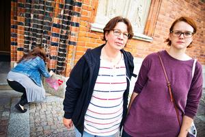 Maria Nordberg med dottern Ann-Sofie Nordberg satte på lunchen upp var sitt hjärta på domkyrkan.