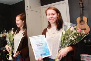 Madeleine Eriksson har också fått NT:s stipendium.