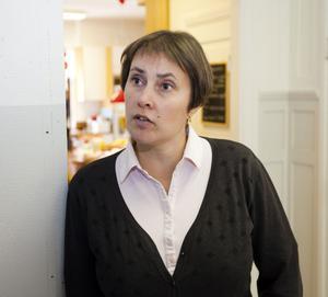 – Man vinner mycket tid med sina barn, säger Jenny Ryderborn som precis som alla andra föräldrar hjälper till på Bullerbyn några timmar i månaden.