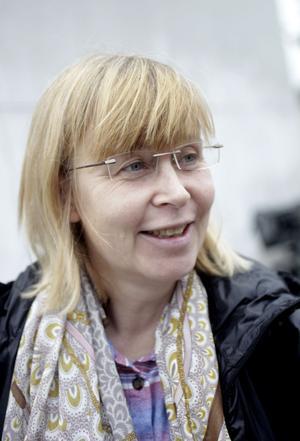 Ann Hagermo, lärare i livskunskap, fick med sig diskussionsunderlag att använda i klassrummet.