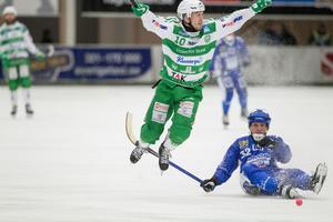 Ted Bergström i matchen mot Vänersborg.