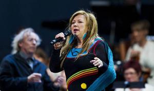 Mari Boine spelar med Norrbotten Big Band på Gamla teatern i kväll.