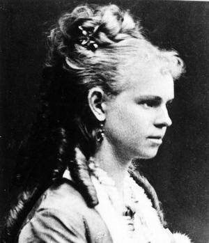 Siri von Essen, skådespelerska och gift med August Strindberg.