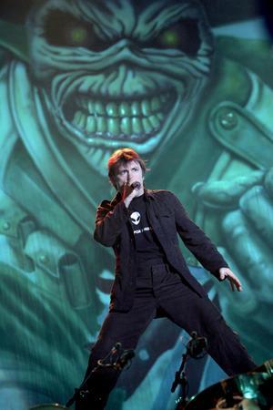 Bruce Dickinson i Iron Maiden.