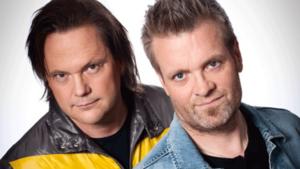 """Tommy Ekman och Micke """"Syd"""" Andersson besöker Fagersta och Brukshotellet i kväll."""