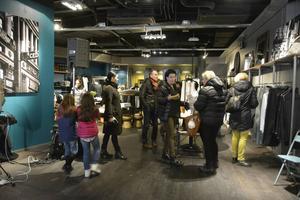 Butiken är på 240 kvadratmeter och det mesta är till salu – både möbler och inredning.