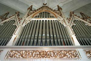 Orgel i Hälsingtuna.