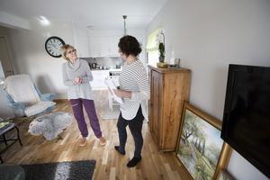 Det är ganska vanligt att det tar stopp när man kommer till en ny lägenhet. Nu ska Lina hjälpa Ulla.