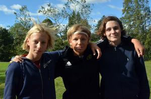 Jonas Öhman, Anders Frisendahl och Alexander Lundh har gett sig i kast med en ny sport, bumperball.