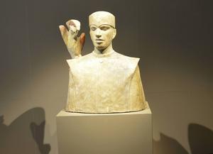 Skulptur av Camila Bergman.