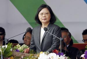 Sedan Taiwan valde liberalen Tsai Ing-wen till president så utestängs Taiwan från Världshälsoorganisationens möten.