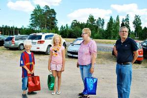Ludwig och Lovisa Nordgren från Hudiksvall besöker Furuvik med farmor och farfar, Majvor och Örjan Nordgren. Barnen gillade djuren allra mest, särskilt kängurun.