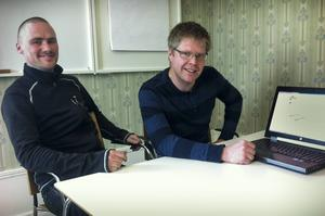 Per-Erik Eriksson och Andreas B Hallberg driver Config Design.