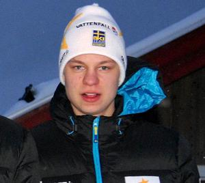 Falun-Borlänges Oscar Ivars körde tredje sträckan i bronslaget.