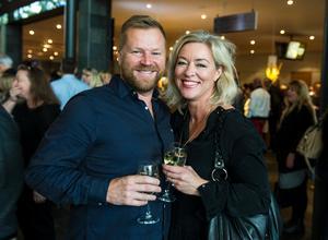 Västeråsarna Lars Svensson och Nina Salmi såg konserten som extra helglyx.