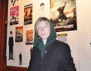 Sylvelin Måkestad fanns på plats för att svara på frågor om hennes film Jag ser dig.