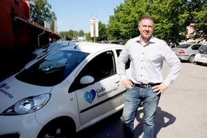 David Frost är ägare till hemtjänstföretaget Gefle seniorservice.