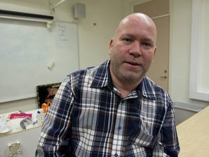 Martin Eriksson, lärare på restaurang- och livsmedelsprogrammet på Altinska.