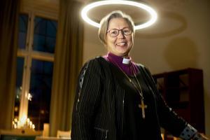 Gloria. Eva Nordung Byström är nöjd med upprustningen av biskopsgården i Härnösand.