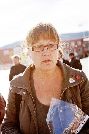 Elisabeth Örnell (v) var starkt upprörd.– Helt huvudlöst, säger hon om Israels attack.