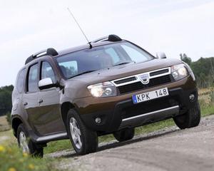 Dacia Duster 1,5 dCi 4x4.Foto: Rolf Gildenlöw