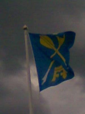 Flaggning i Orsa.