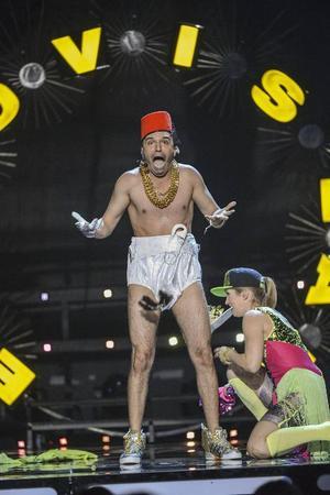En deltävling i Melodifestivalen skulle sitta som en smäck bland allt fint sportutbud som Östersund kan stoltsera med, skriver KM.