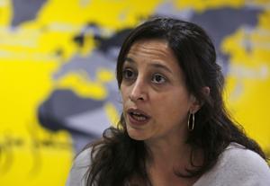 Lynn Maalouf, chef för Amnesty Internationals researchteam vid regionkontoret i Beirut.