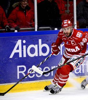 Per Hallin fixade Timrås första straffvinst för säsongen.