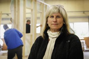 Trägymnasiets rektor Tina Bergman menar att ett bandygymnasium tillsammans med Slottegymnasiet är en