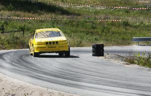 Henrik Flodin, SMK Hälsinge, blev tvåa i klass 2 supernationell. I den klassen var det hård körning och tajta marginaler om segern.