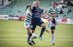 Varken Ida Mathiasson eller någon annan kom någonvart mot Moröns solida försvarsmur.