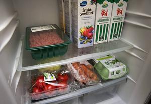 Den mest lämpliga temperaturen i kylskåpet är, enligt Livsmedelsverket, 4-5 grader.