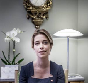 Sysselsättningsgraden måste höjas i hela befolkningen, Annika Strandhäll.
