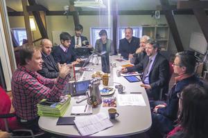 OECD besökte Jämtlands län och pratade då bland andra företrädare för sametinget.