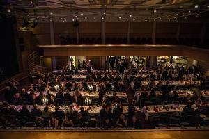 Galan på OSD var välbesökt med närmare 400 gäster.