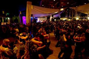 Det bjöds på många sköna moves på dansgolvet igår.