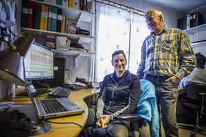 Andrea Friebe är en av de forskare som har lagt fram sin doktorsavhandling inom projektet. Nu är hon tekniskt ansvarig på fältstationen.