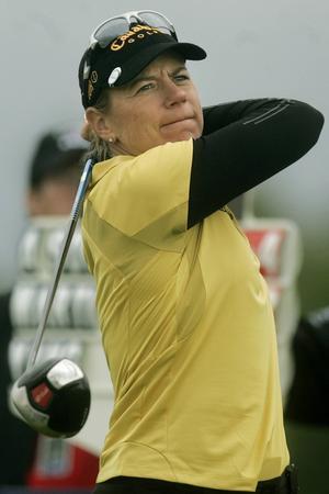 Annika Sörenstam ställde upp på herrarnas PGA Tour i en tävling under 2003.