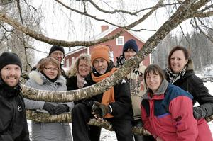 Kursen i ekoturism ger både nya kunskaper och nya kontakter. Från vänster: Andreas Ahlsén, Gunta Westin, Hans Bergenarp, Ann-Sofie Eliason, Aziz Abdullah, Camilla Eriksson Ersson, Petra Janensch och Annika Hübinette.