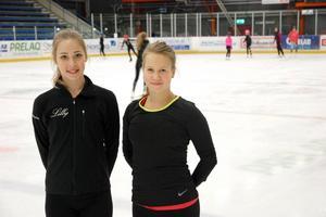 Säters Lilly Almquist och Borlänges Emma Jansson får mer istid efter sammanslagningen.