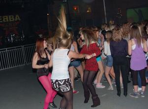 Man kunde bli svettig också av att dansa disko.