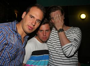 Blue Moon Bar. Perra, Staffan och Nilsson