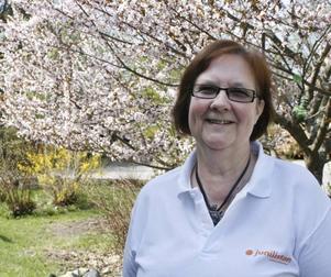 Margoth Hansen, Åshammar, står på åttonde plats på Junilistans lista: - Vi vill vara kvar i EU men vi är EU-kritiska. Vi vill inte att EU ska syssla med allt, till exempel så vill vi inte att EU ska syssla med jordbruksstöd. Däremot ska vi ha kvar samarbetet när det gäller klimatet och polisen.