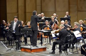 Michael Weinius sjöng Schubertromanser till Nordiska Kammarorkestern under Johannes Gustavsson i torsdags.