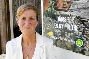 Anna Hildebrand toppar Miljöpartiets lista inför valet till landsting/region.