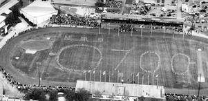 Jubileumsutställning. Hölls den 4 juni till 20 juni 1965 i Sveaparken, Idrottshuset, på Vinterstadion och Eyravallen.